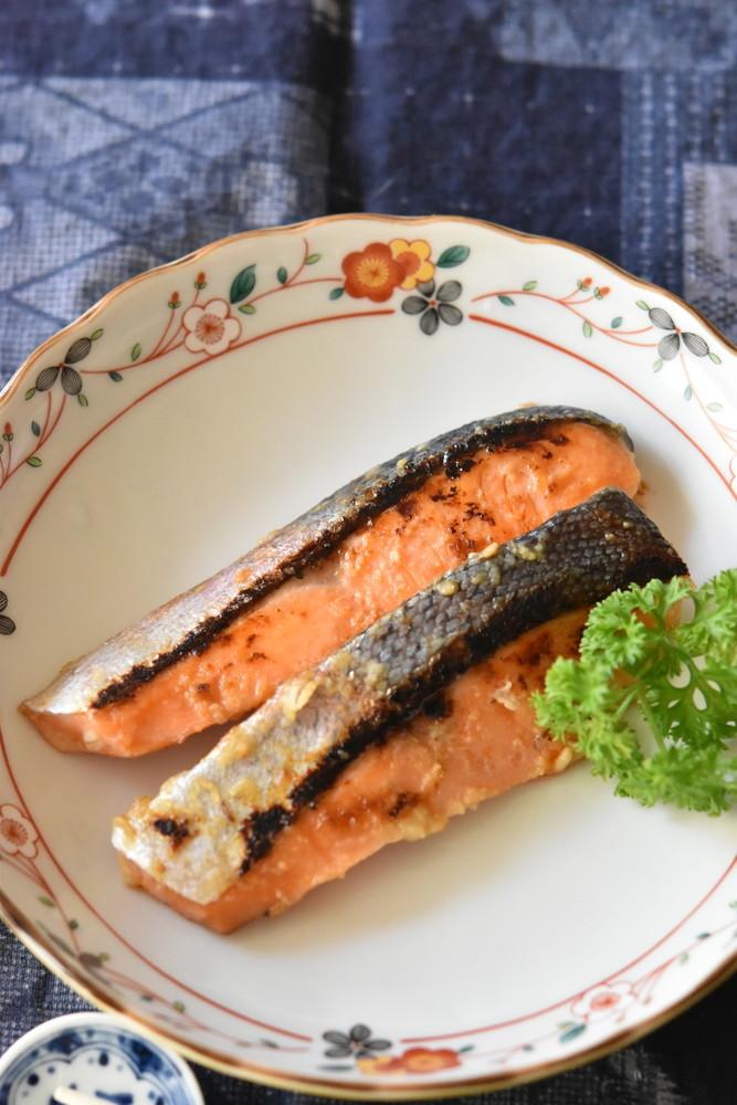 鮭の西京焼き【下味冷凍・作り置き】