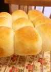 米粉ちぎりパン(冷蔵庫発酵・牛乳パック)