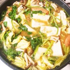 野菜が美味しい!中華味噌鍋