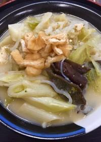 月曜断食用 良食日の野菜鍋