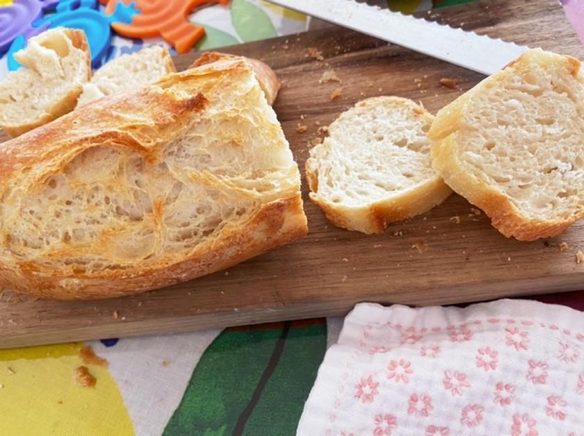 ホシノ天然酵母で本格フランスパンを簡単に
