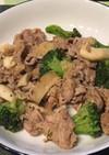 豚肉とブロッコリーの塩麹炒め