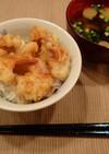 ホッキ貝の天丼