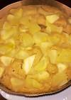 りんご2個分☆HMで簡単りんごケーキ