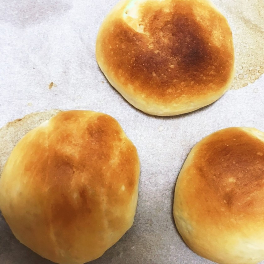 薄力粉で手ごねパン★