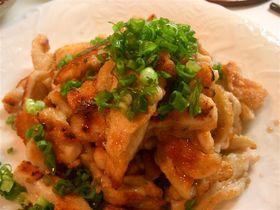 食べやすい♪鶏ムネ肉のカリカリ焼き