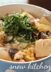 豆腐の卵とじ丼