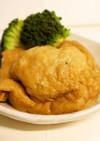 夕食お弁当♪鶏ミンチと糸こんにゃくの袋煮