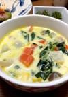バーミキュラ 余り野菜のミルクスープ
