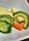 お酒のつまみに!好きな野菜を味噌に漬けて
