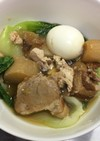 中華風・豚バラの角煮と大根のピリ辛煮