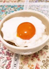 新食感! 銀座の高級料理店の卵かけご飯♪