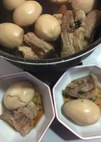 米のとぎ汁で煮たホロホロとろける豚の角煮