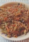 菊芋のキンピラ