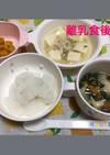 9ヶ月☆軟飯 棒々鶏 ワンタンスープ