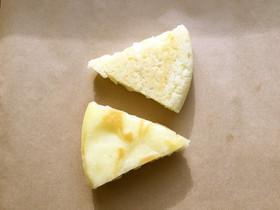 試作中)米粉でフォカッチャ風。炊飯器使用