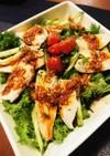 簡単❤️わさび菜のサラダ