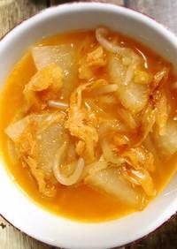 プゴク(干タラ)のスープ
