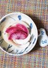 新玉ねぎと紫大根の簡単マリネ