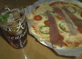 簡単!カリカリのピザ生地