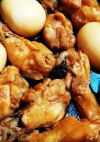 鶏手羽元のかんたん酢でサッパリ煮