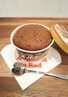 レンジで簡単☆チョコアイスカップケーキ