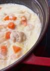 かぶと白菜の米粉シチュー