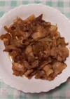 簡単♬︎♡豚バラ肉のしょうが焼き