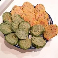 【離乳食完了期】野菜と豆腐のチヂミ風