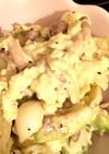 ユリ根と卵のサラダ