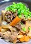 牛肉と根菜の山椒煮