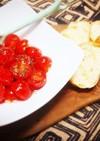 プチトマトの塩オリーブオイル漬け