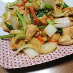 鶏むね肉の中華炒め