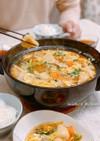 大阪王将冷凍水餃子でギョーザ鍋