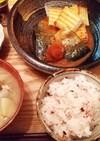 夕飯(1/15)さばの味噌煮