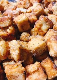 【簡単】栄養士の高野豆腐ドーナツ