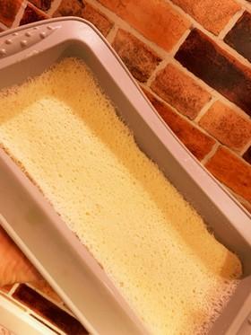 電子レンジで作る蒸しパン プレーン