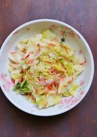調味料1本で絶品!白菜と桜えびの和え物