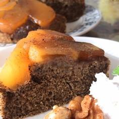 チャイ風味アップルケーキ