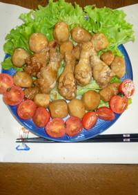 鶏手羽元と里芋の八角煮
