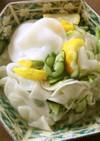 かぶとキュウリの柚子まるごと塩サラダ
