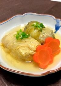 ロール白菜*和風コンソメ煮