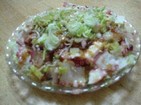 ☆たこと豆腐のサラダ