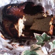 濃厚♡紅茶のバスクチーズケーキ