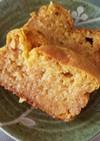 完熟柿のパウンドケーキ