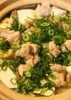 鶏肉と白菜・大根・豆腐のあっさり鍋