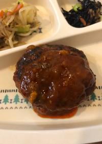 島豆腐煮込ハンバーグ★卵なし★簡単