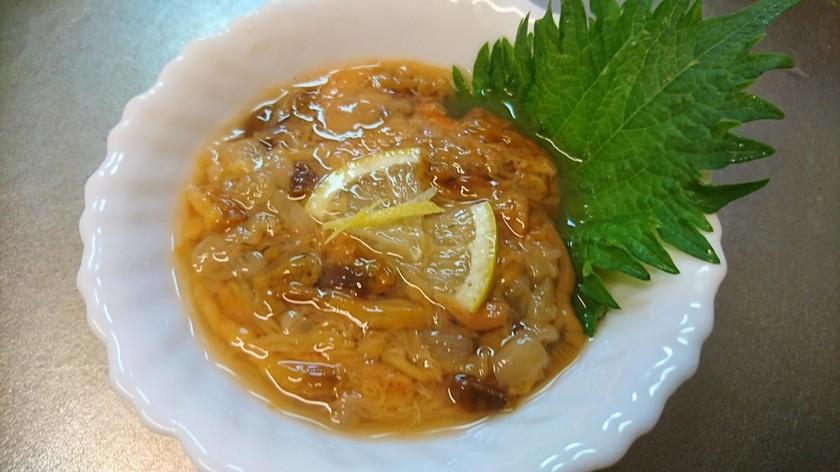 愛知の魚100 高級品のコノワタの作り方