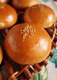 小麦胚芽あんパン(HB使用)