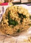 【発毛レシピ】玄米と菜花の混ぜご飯